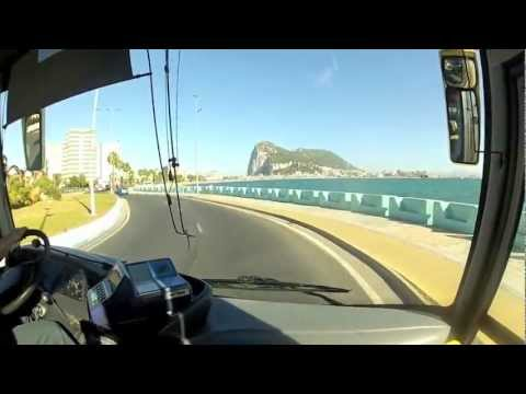 PAUL HODGE: AFRICA TO GIBRALTAR, SOLO AROUND WORLD IN 47 DAYS, Ch 226, Amazing World in Minutes