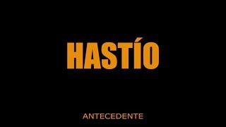 HASTÍO - tema Recordando - (disco Antecedente 2015)