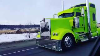 Thandi _kenworth w900 punjabi truck song