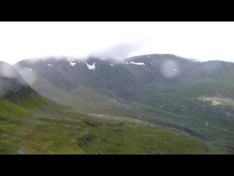 Szkocja 2008-07-15 dz.5 poniżej Sgurr Choinnich Mor