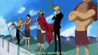 One Piece Opening 6 Full Brand New World Sub Español) HD