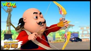 Motu Ki Teerandazi - Motu Patlu in Hindi - 3D Animation Cartoon - As on Nickelodeon width=