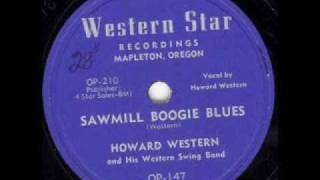 Howard Western - Sawmill Boogie Blues
