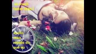 Never gonna be alone. legendado no português e inglês.