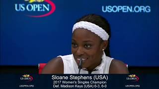 Sloane Stephens jokes that $3.7 million check inspires her to keep playing | ESPN