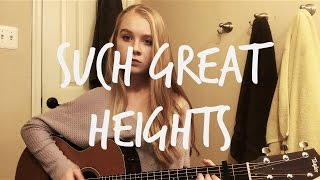 Such Great Heights (Postal Service Cover)