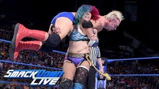 Asuka vs. James Ellsworth: SmackDown LIVE, July 3, 2018