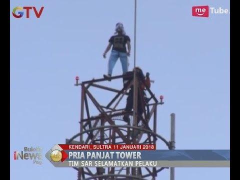 Download Video Stress Sering Dipukuli Ayah Tiri, Pelajar SMK Nekat Naik Tower Untuk Bunuh Diri - BIP 12/01