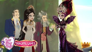 Team Snow White versus Team Evil Queen | Dragon Games | Ever After High