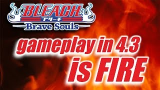 Bleach Brave Souls: patch 4.3 demonstration with gameplay!!!