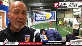 Marcelino Gutierrez Tigres de Monterrey en Chicago