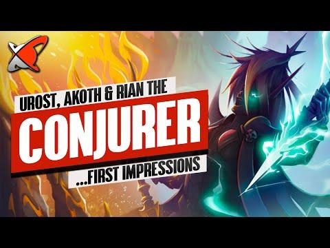 RIAN THE CONJURER... RAID'S NEWEST STRIPPER!! | Showcase feat. Urost & Akoth | RAID: Shadow Legends