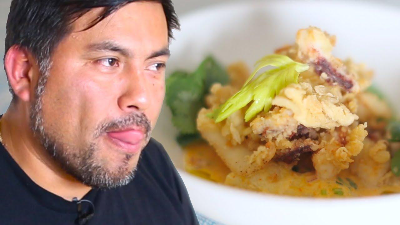 Chef's Day Off: Peruvian Ceviche With Calamari