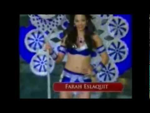 Miss Universe Nicaragua 2012 Farah Eslaquit en traje tipico