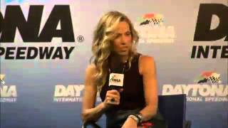 Sheryl Crow talks about being a NASCAR fan