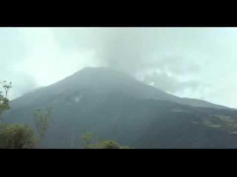 Volcan Tungurahua en �ruption