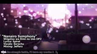 """[TYER] English Shigatsu wa Kimi no Uso OP2 - """"Nanairo Symphony"""" [feat. Sorachu]"""