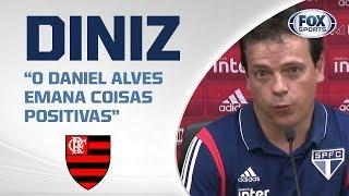 EMPATE NA VILA! Veja entrevista coletiva de Fernando Diniz após Santos 1 x 1 São Paulo