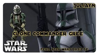 Clone Commander Gree Feat  Star Wars Basis DE I Juliayn