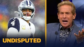 Skip Bayless reacts to the Dallas Cowboys' Week 12 loss to the Patriots   NFL   UNDISPUTED