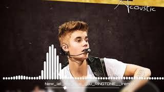 Justin Bieber || let me love you || ringtone  mix  I phone || 2018