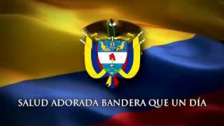 """Saludo a la Bandera Colombiana - """"Salud Adorada Bandera"""""""