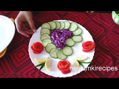 Download Thumbnail For Simple And Easy Salad Decoration Ideas By