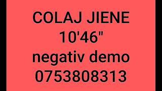 Colaj jiene - negativ (Sus in varful muntelui + Pe la poarta casei mele + Sus la stana la izvor)
