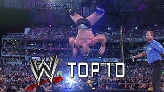 WWE Top 10 - OMG! WrestleMania Moments