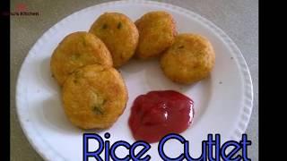 Rice Cutlet | Chawal Ke Cutlet | Best Evening Snacks