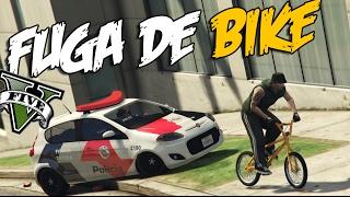 GTA V - FUGA DE BIKE  ( Mc Lele JP   Poder Das Duas Rodas )