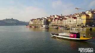 Porto, Portugal. drone
