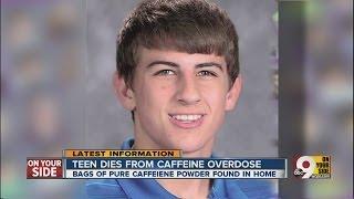 Teen dies from caffeine overdose
