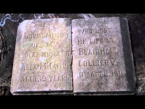 Alexander McCallum Miner Gravestone Torryburn Fife Scotland