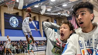 BRONNY JAMES FIRST HOME GAME! Sierra Canyon SOLD OUT Gym! w/ Jesser
