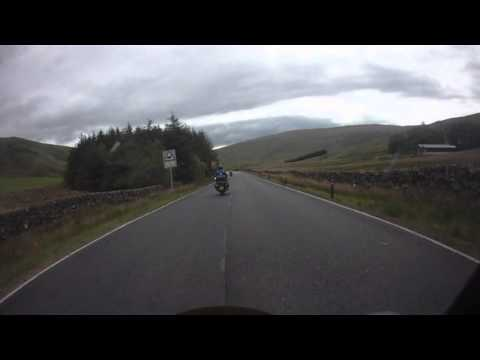 Northern Pan Riders Scotland Weekend over the Dalveen Pass