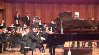 Richard He(何云天) plays Rachmaninov Piano Concerto No.2 3rd movement part3 ending