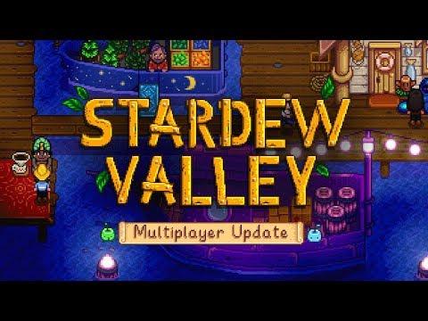 WTFF::: Stardew Valley Multiplayer Update -- Trailer & Release Date