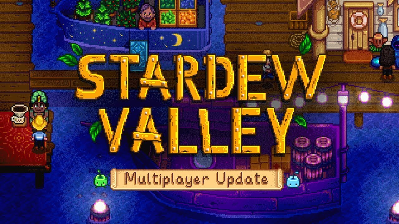 Stardew Valley's Multiplayer Update Has An Official Release Date