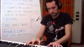Mila e Shiro due cuori nella pallavolo - Sigla - Piano Version - MusicAlb