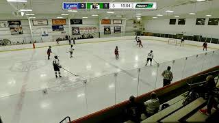 Devin Lowe #54 South Shore Kings NCDC with a penalty kill shift vs. CJR Feb. 2019
