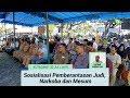 Aparatur Desa Di Aceh Tenggara Ikuti Sosialisasi Pemberantasan Judi, Narkoba Dan Mesum