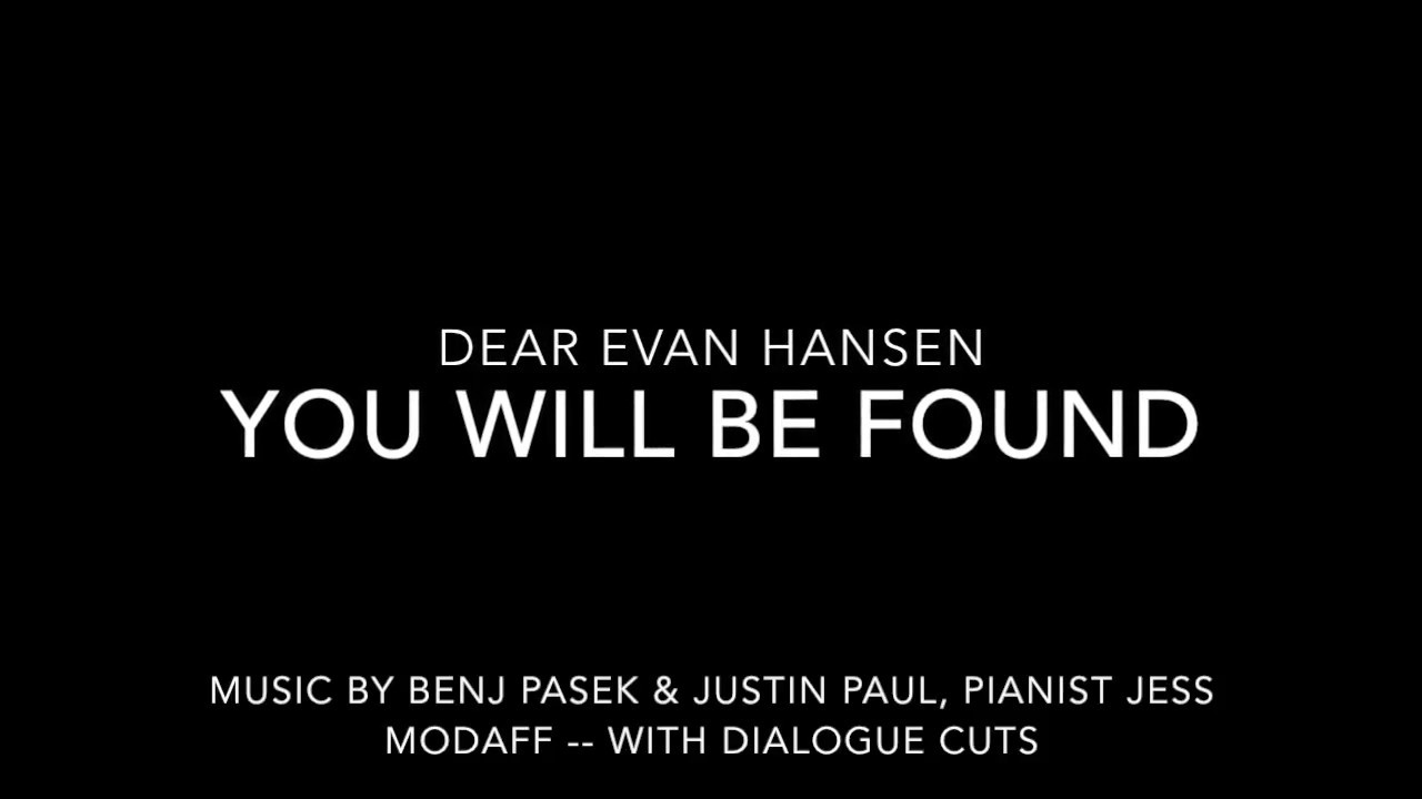Dear Evan Hansen Musical Tickets Pittsburgh Tonight