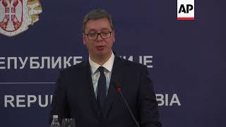 Serbia president meets PMs from Greece, Bulgaria, Romania