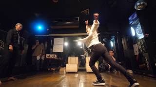 erika vs YOCO JUDGE EXHIBITION BATTLE アシサバキ vol.6 FOOT MOVE STYLE DANCE BATTLE