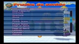 canciones que contiene dbz budokai tenkaichi 3 latino beta 2