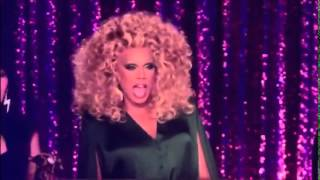 Sharon Needles and PhiPhi O'hara - Lip Sync Batte (It's Raining Men)