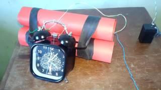 Bomba relógio Airsoft caseira