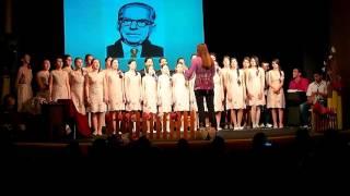 Hor starijih razreda - Oj ružice rumena - Dan škole 2015