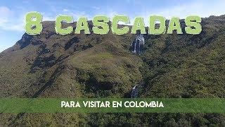 8 cascadas que no te puedes perder en Colombia!
